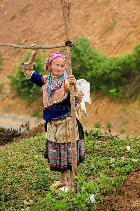 Ethnic people in Vietnam stock photography