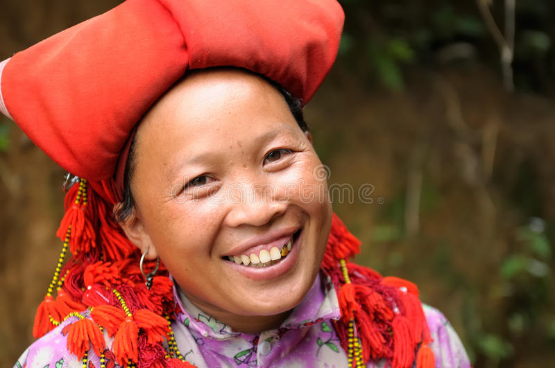 Ethnic people in Vietnam royalty free stock photography
