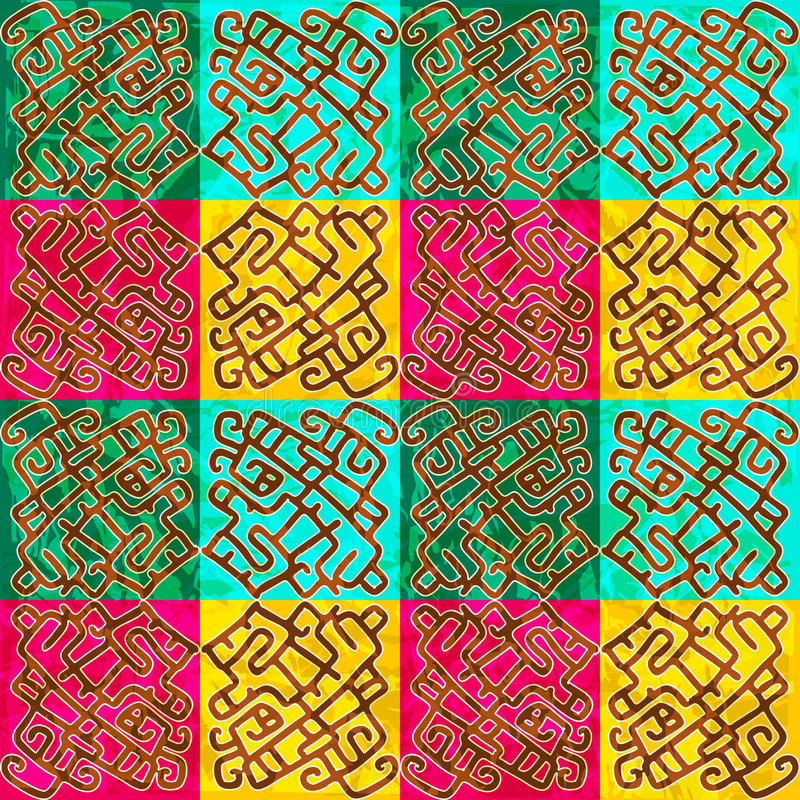 Download Ethnic Seamless Abstract Pattern Stock Vector - Image: 38885055