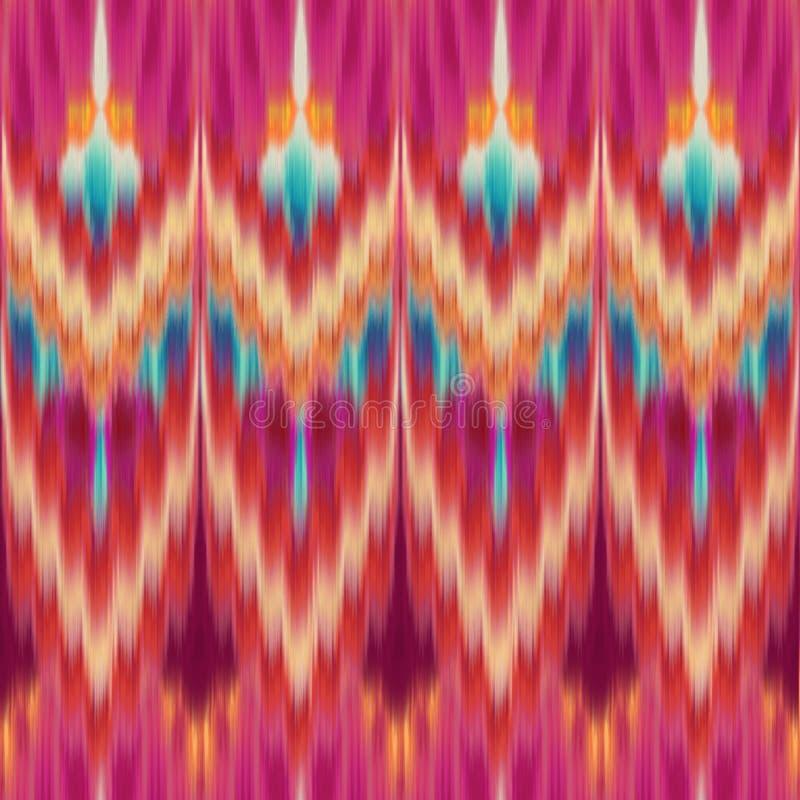 Ethnic seamless fashion pattern royalty free illustration