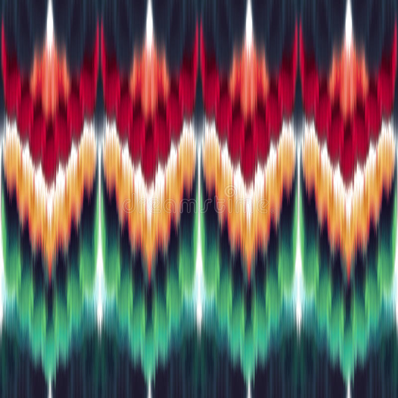 Ethnic seamless fashion pattern vector illustration