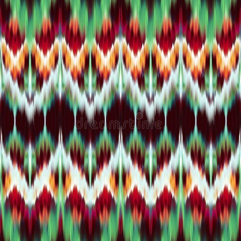 Ethnic seamless fashion pattern stock illustration