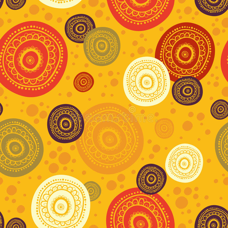 Ethnic seamless pattern. Indian ornament. royalty free illustration