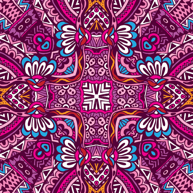 Free Ethnic Seamless Pattern Ornamental Royalty Free Stock Images - 51726089