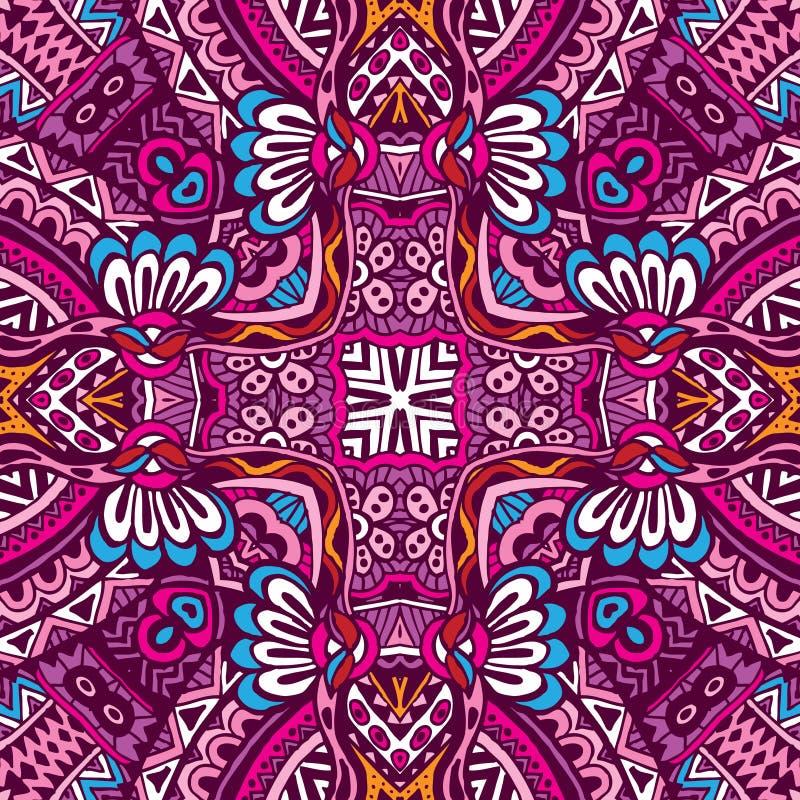 Ethnic seamless pattern ornamental vector illustration