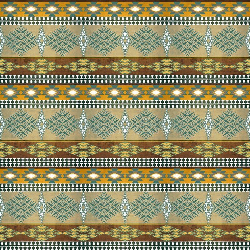 Ethnic seamless pattern royalty free stock photo