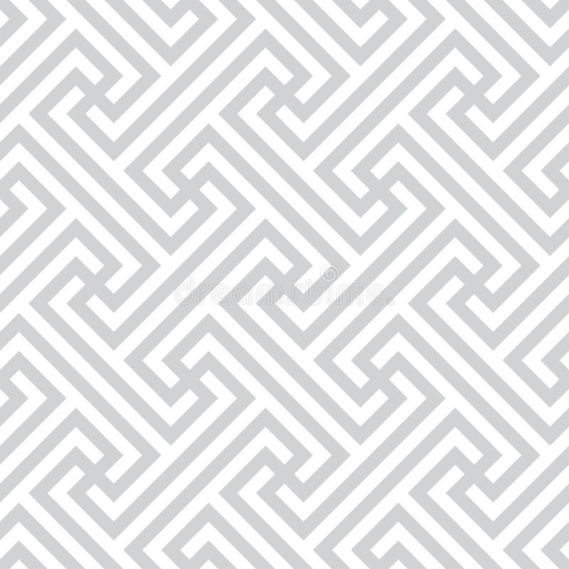 Ethnic simple pattern - Bali, Indonesia stock illustration