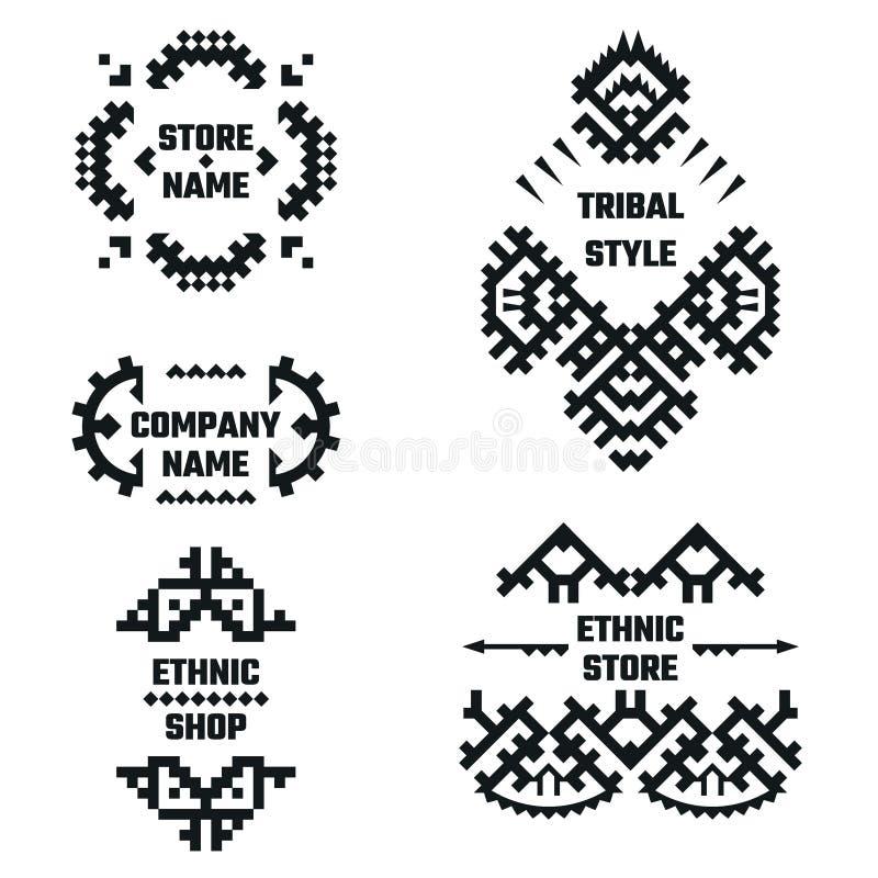 Ethnic Style royalty free illustration