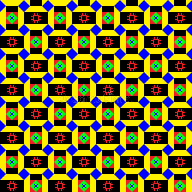 Funky African Pattern Stock Photos