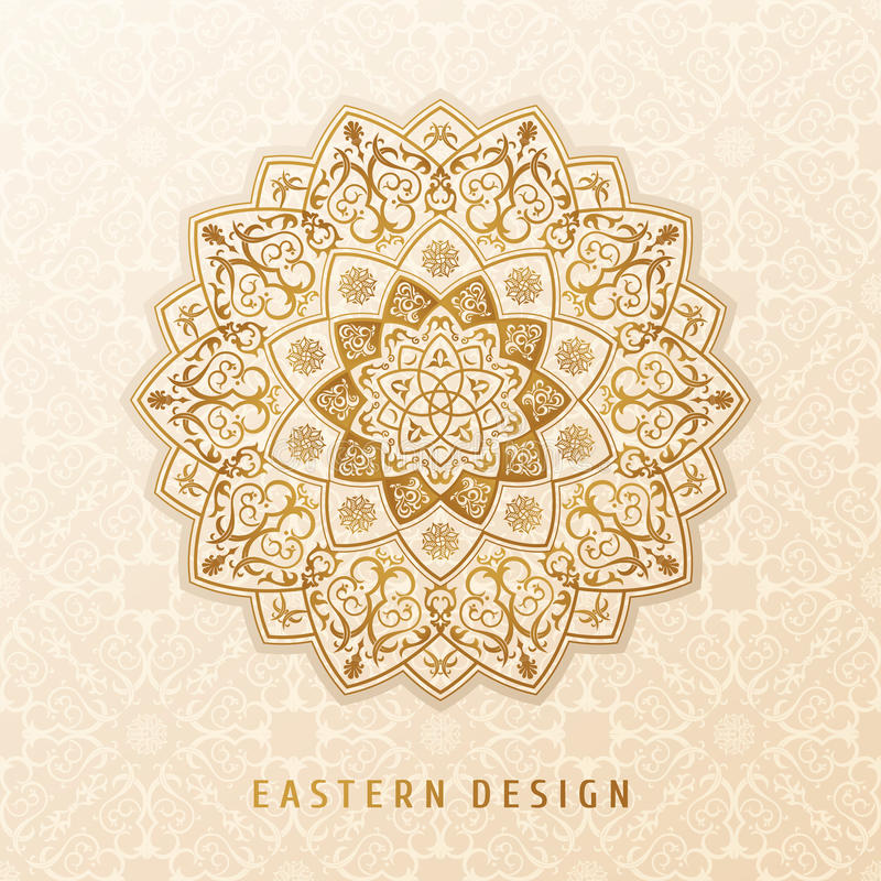 Ethnic vector pattern mandala design for invitations, cards, labels. Round logo and label template. Luxury floral woven vector illustration