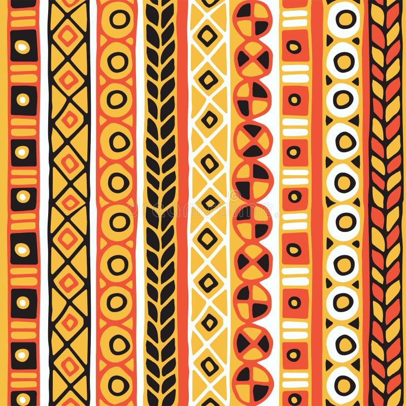 Ethnicity Seamless Pattern Boho Style Ethnic Wallpaper Tribal