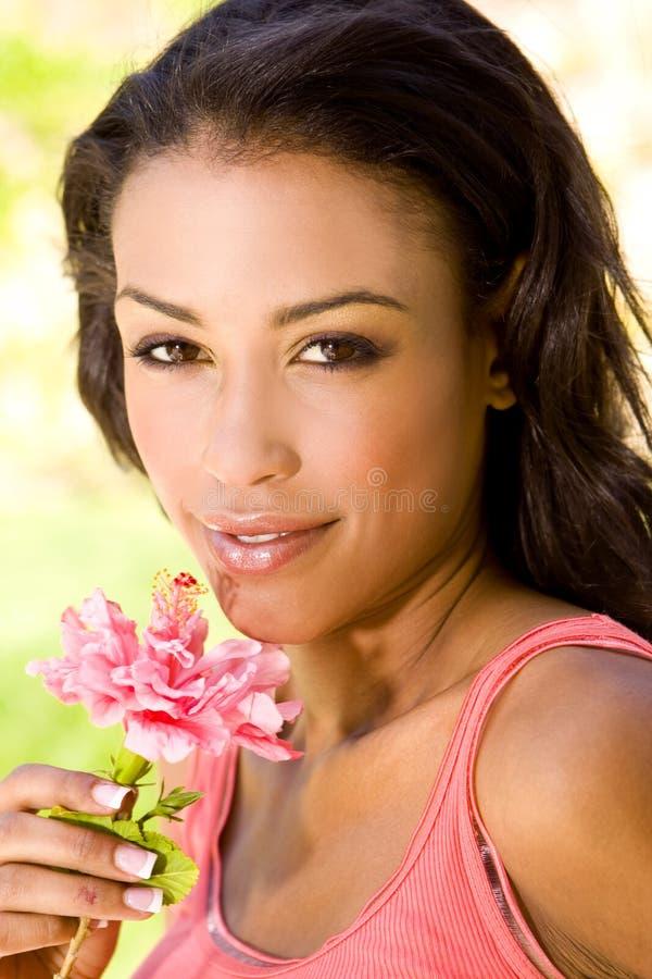 Ethnische Frau stockbild