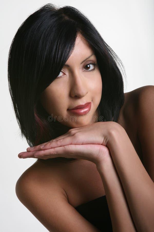 Ethnische Schönheit lizenzfreie stockfotos
