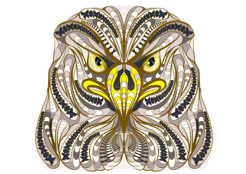 Ethnischer Adler vektor abbildung