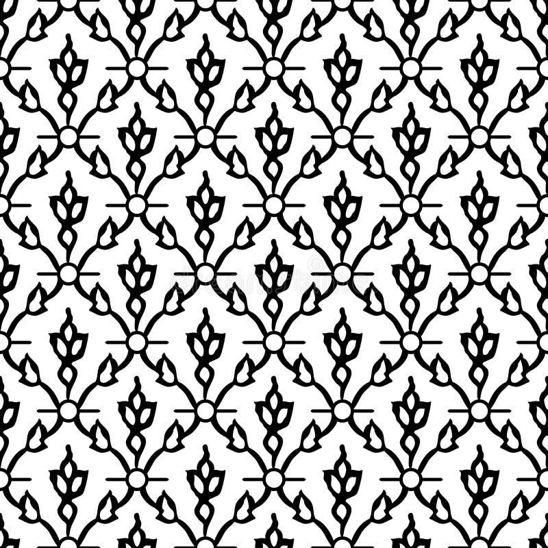 Ethnischer blockprint Hintergrund lizenzfreie abbildung