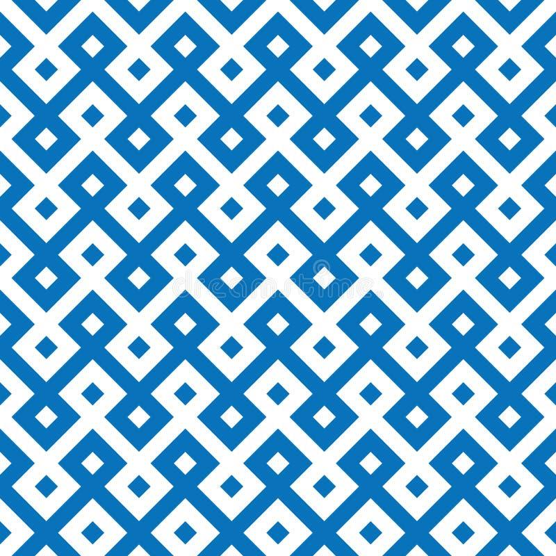 Ethnischer nahtloser Hintergrund vektor abbildung