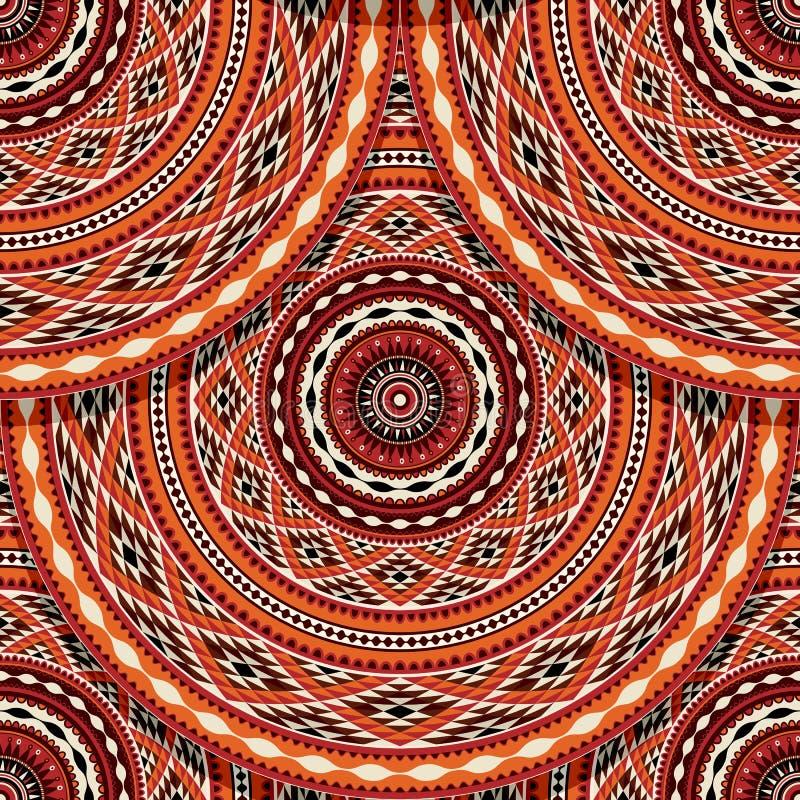 ethnisches indianisches muster vektor abbildung