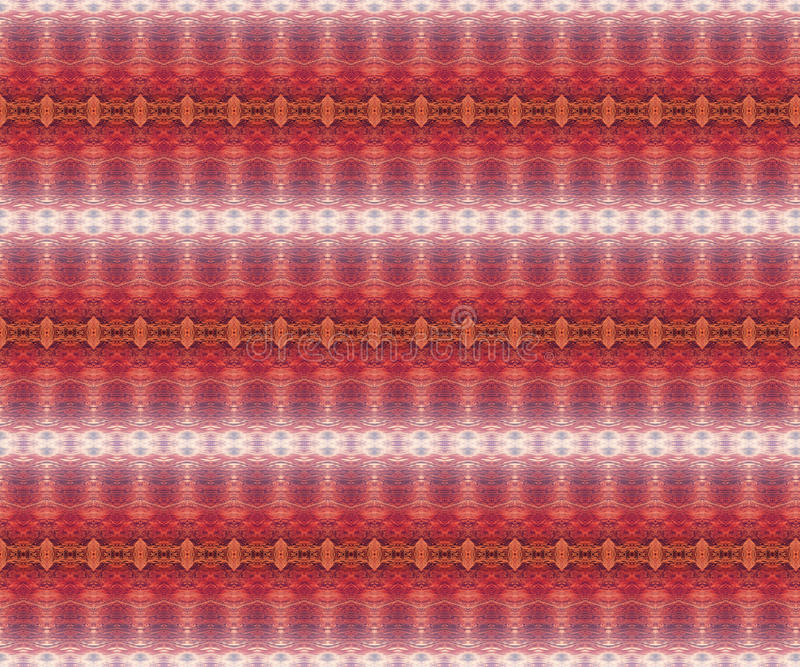 Ethnisches nahtloses afrikanisches Muster vektor abbildung