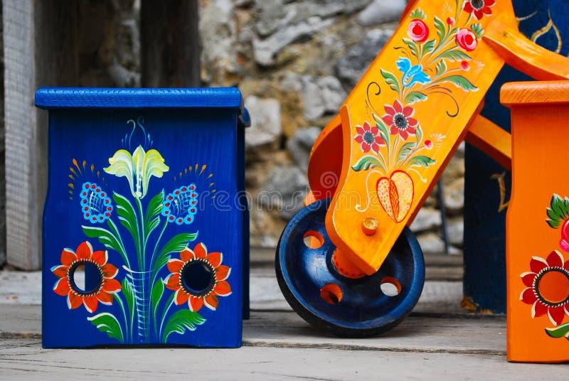 ethno европа делает по образцу Румынию стоковые изображения