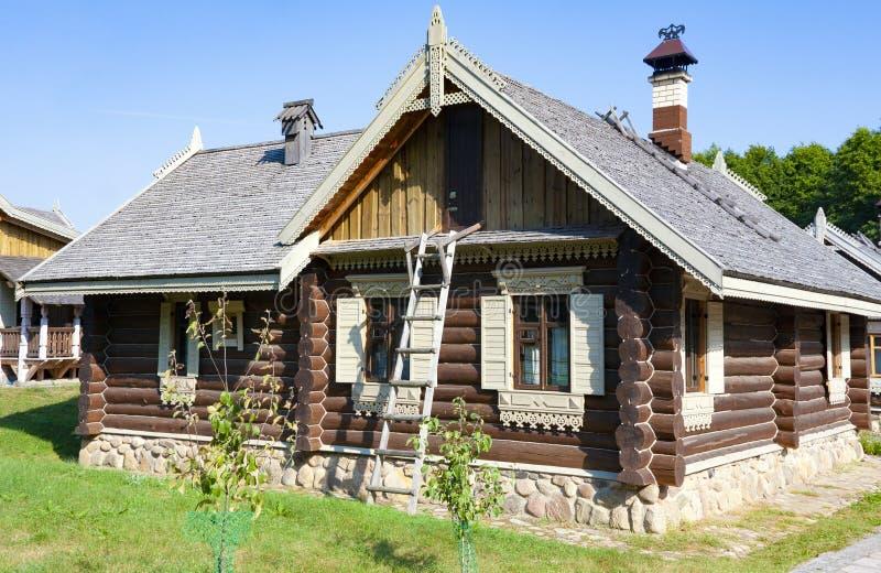Ethnocultural复杂Nanosy-Novoselye 它是历史休闲复合体,做它pos 库存照片