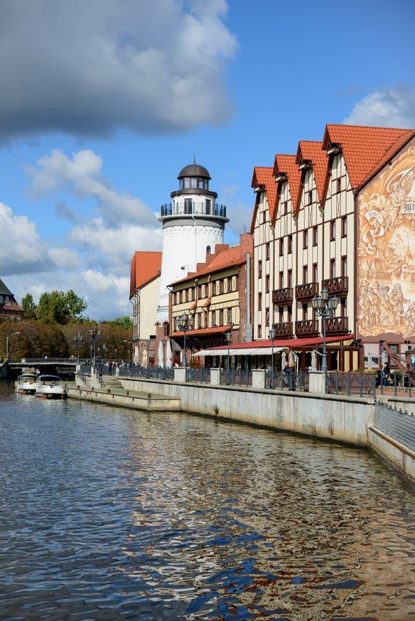 Download Ethnographic Och Handelmitt. Kaliningrad Redaktionell Arkivfoto - Bild av stads, gata: 37344408