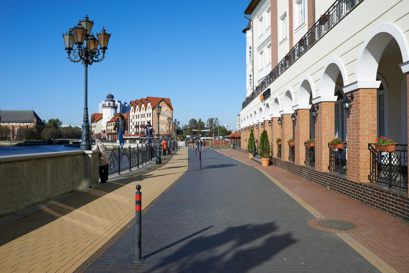 Download Ethnographic Och Handelmitt. Kaliningrad Redaktionell Arkivfoto - Bild av flod, konstruktion: 37344703