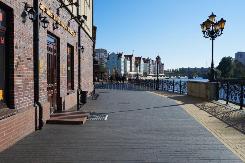 Download Ethnographic Och Handelmitt. Kaliningrad Redaktionell Arkivbild - Bild av panorama, ryss: 37344837