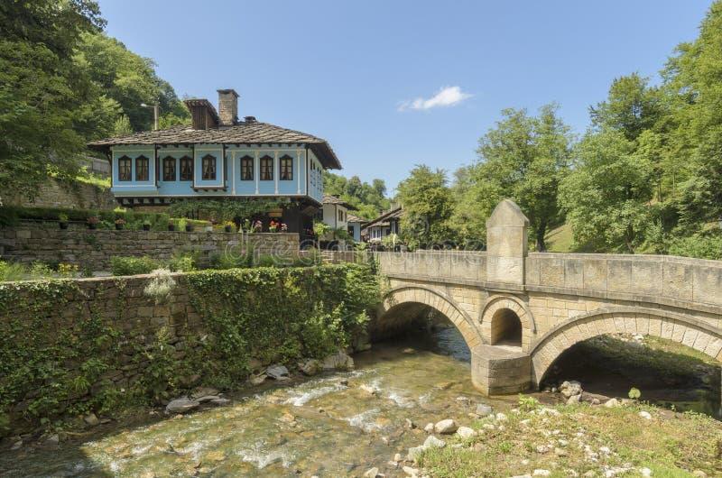 Ethnographical болгарский дом Etar стоковые фото