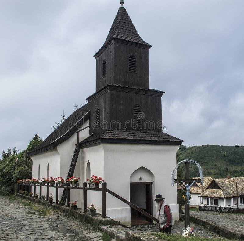 Ethnographisches Dorf Holloko Ungarn Europa lizenzfreie stockfotos