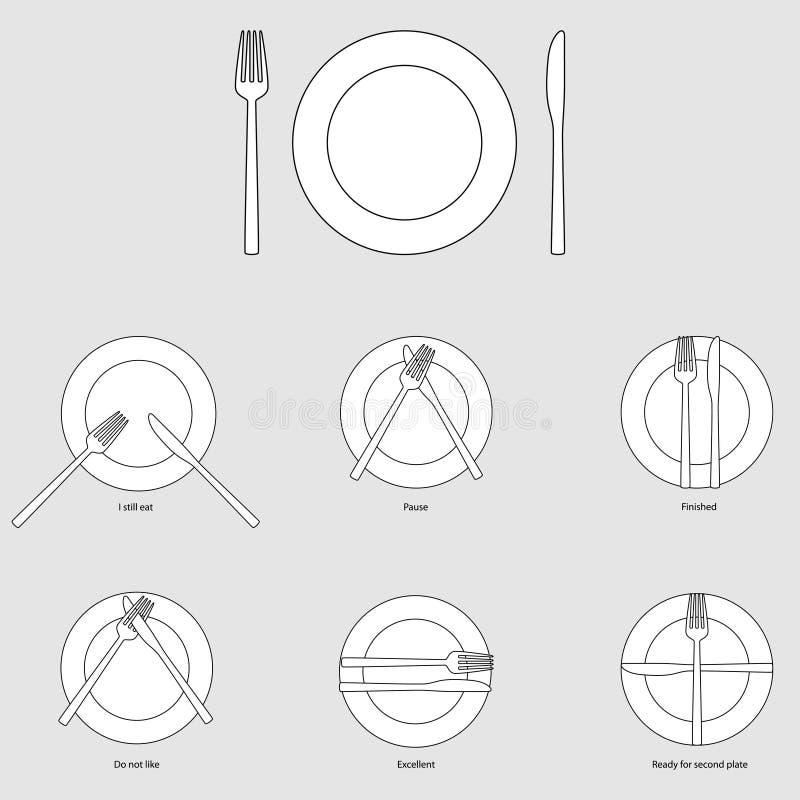 Etichetta della Tabella, illustrazione illustrazione di stock
