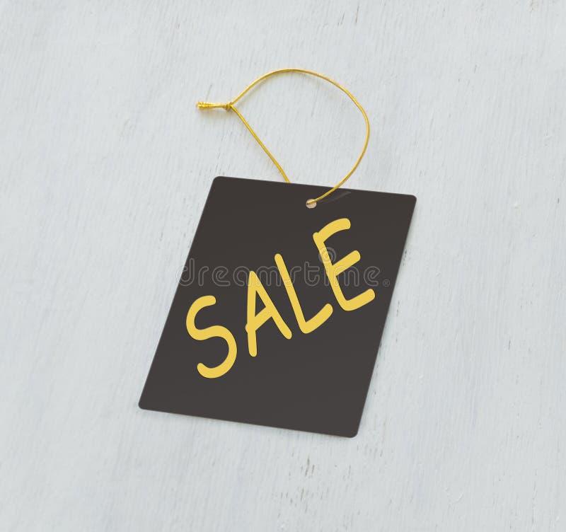Etichetta di gray di vendita fotografie stock