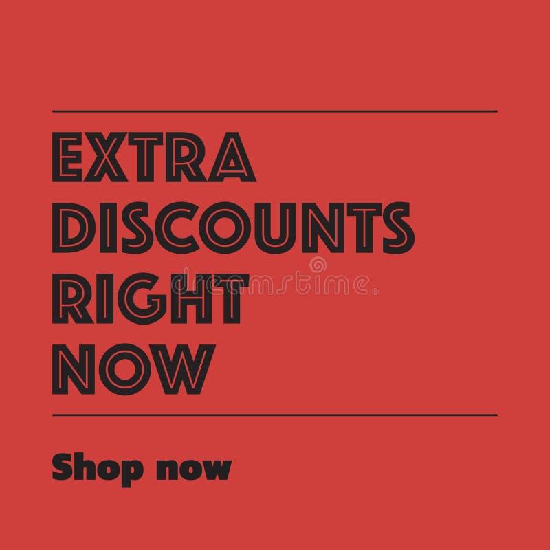 Etichetta di sconto e di vendita immagine stock libera da diritti