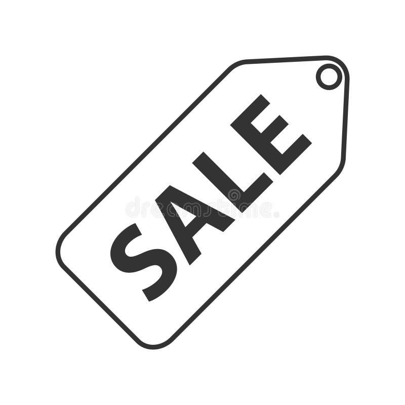 Etichetta di vendita illustrazione vettoriale
