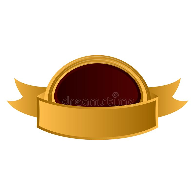 Etichetta premio d'annata vuota isolata royalty illustrazione gratis