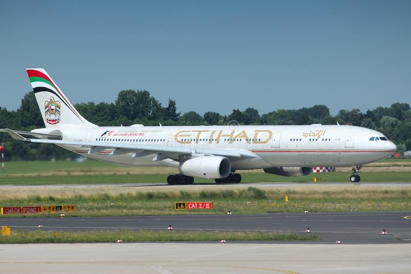 Etihad Airways image libre de droits