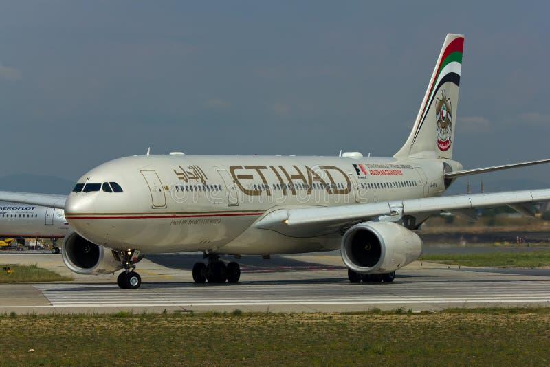 Etihad Airways Airbus A330 photo libre de droits