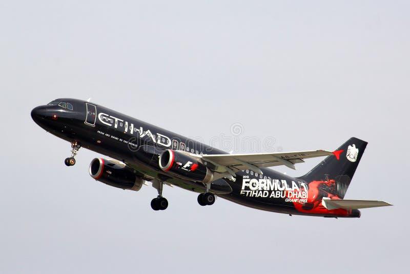 Etihad Airways Airbus A320