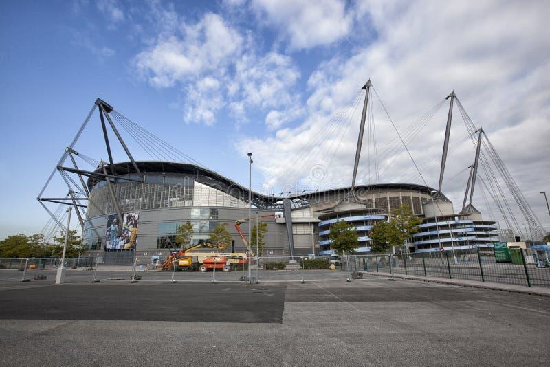 Etihad Fußballstadion stockfoto