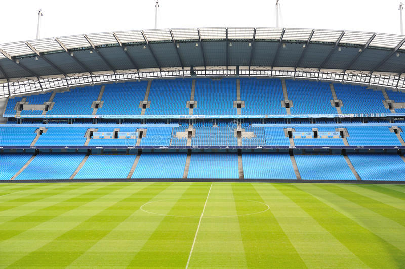 Etihad Fußballstadion lizenzfreies stockfoto
