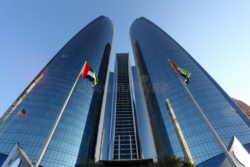 Etihad Góruje, Abu Dhabi obraz stock