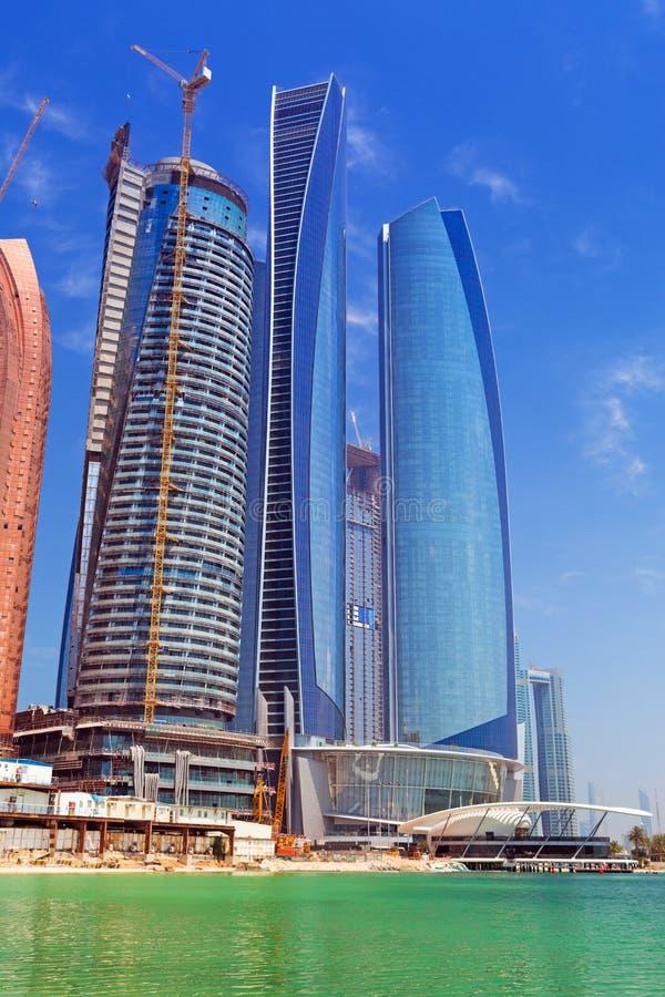 Download Etihad Towers Buildings In Abu Dhabi, UAE Editorial Stock Photo - Image: 40371973