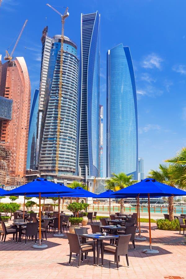 Etihad Towers Buildings In Abu Dhabi, UAE Editorial Image