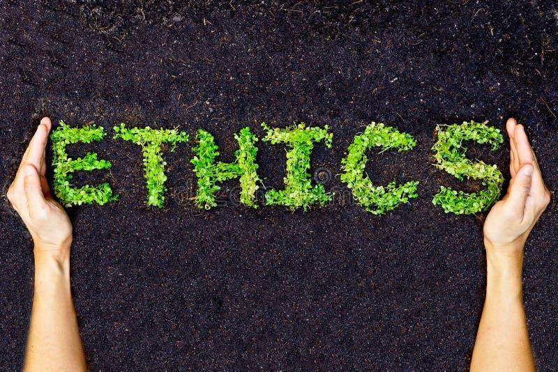 Etik/csr royaltyfria bilder