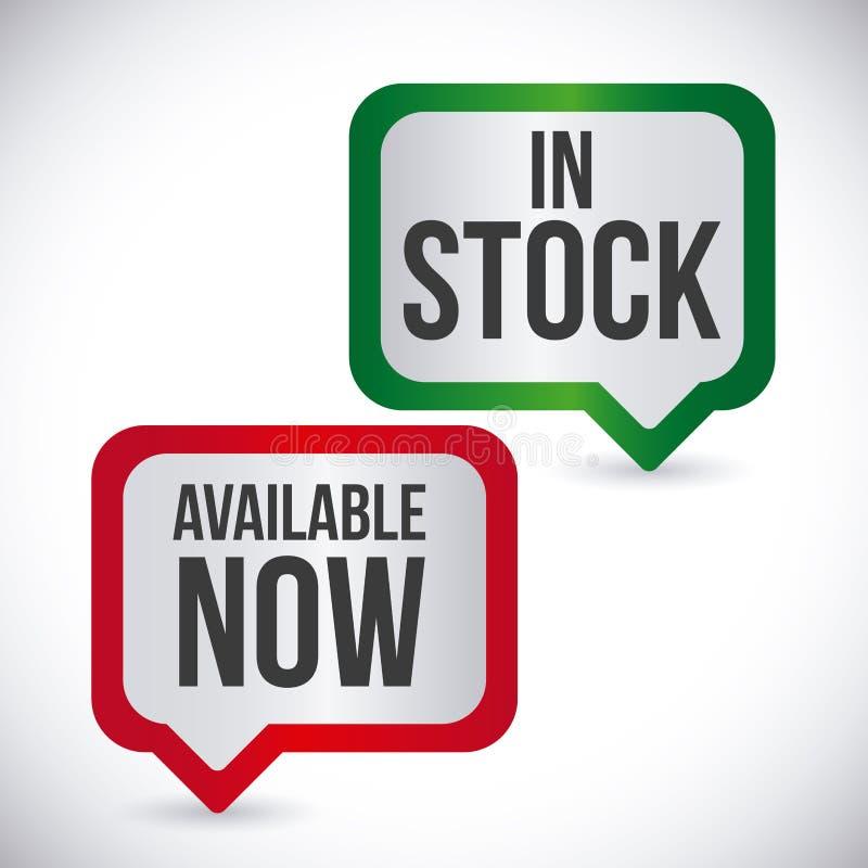 Etikettdesign, illustration stock illustrationer