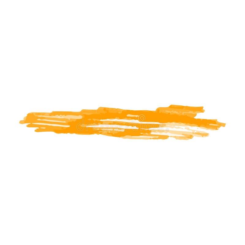 Etiketterende teller of kwaststreek geïsoleerde textuur realistische vectorillustratie vector illustratie