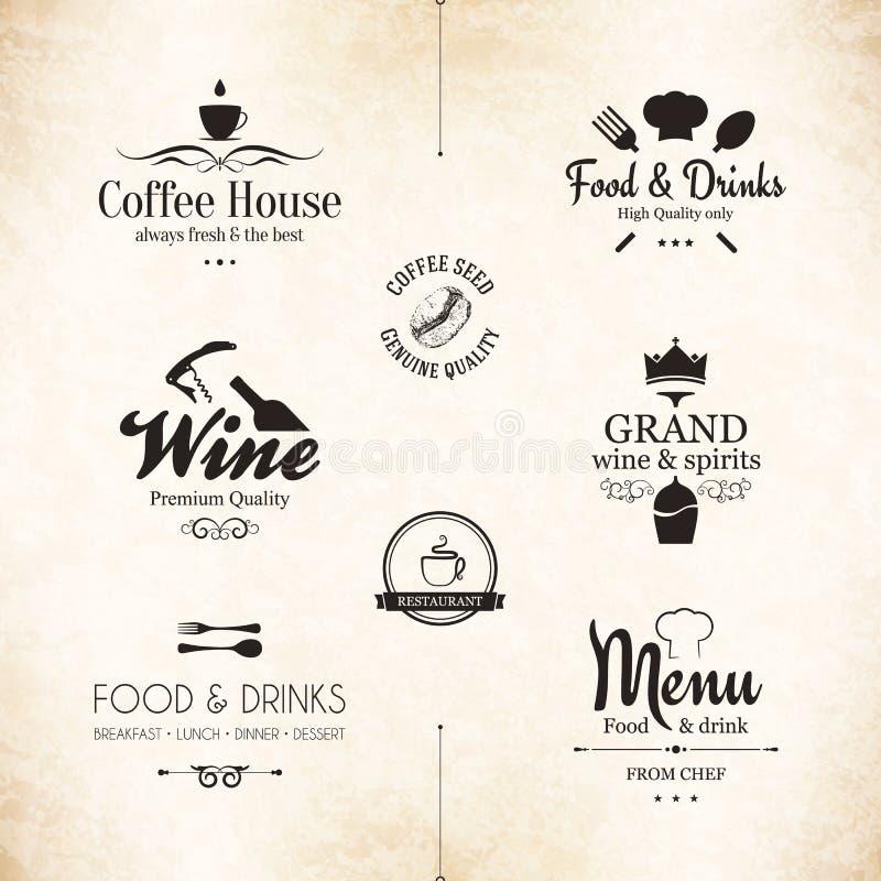 Etikettuppsättning stock illustrationer