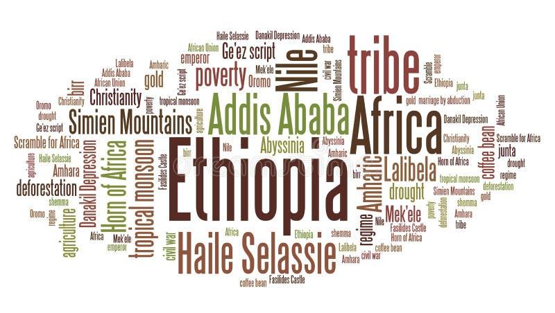 Download Etiopia ilustracji. Ilustracja złożonej z kultura, kraj - 57655432