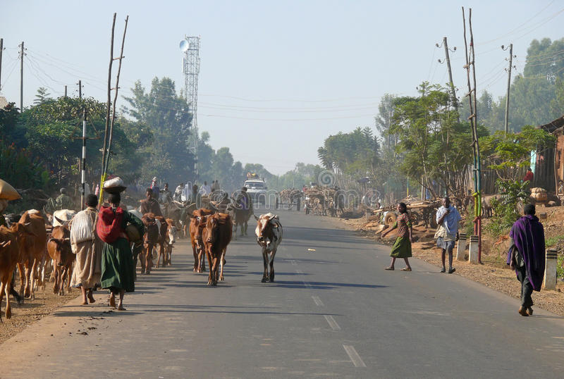 ETIOPIEN - NOVEMBER 24. arkivbilder