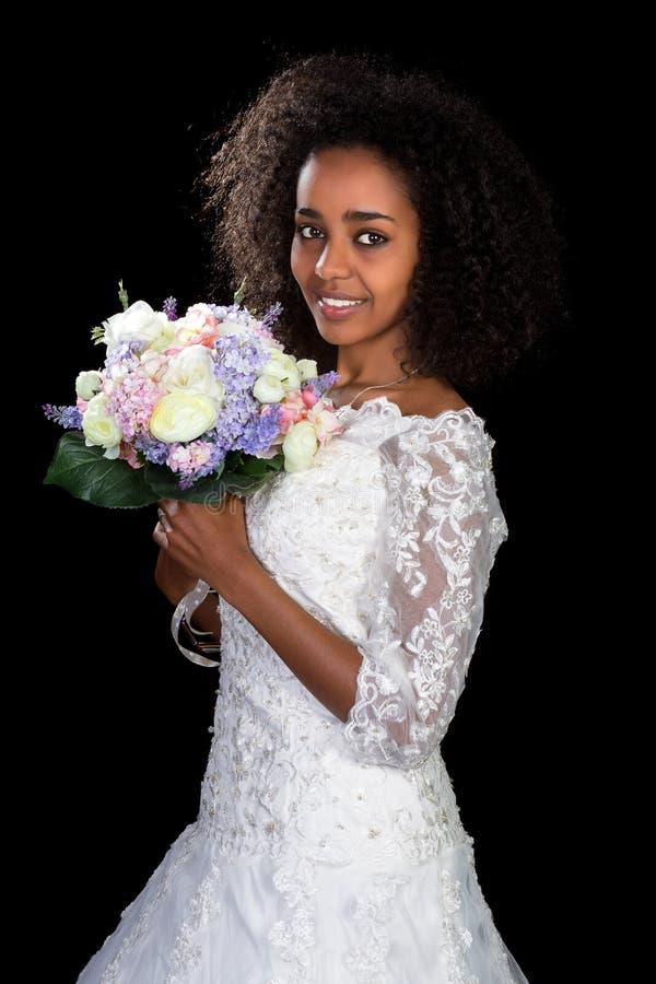 Etiopisk brud arkivbilder
