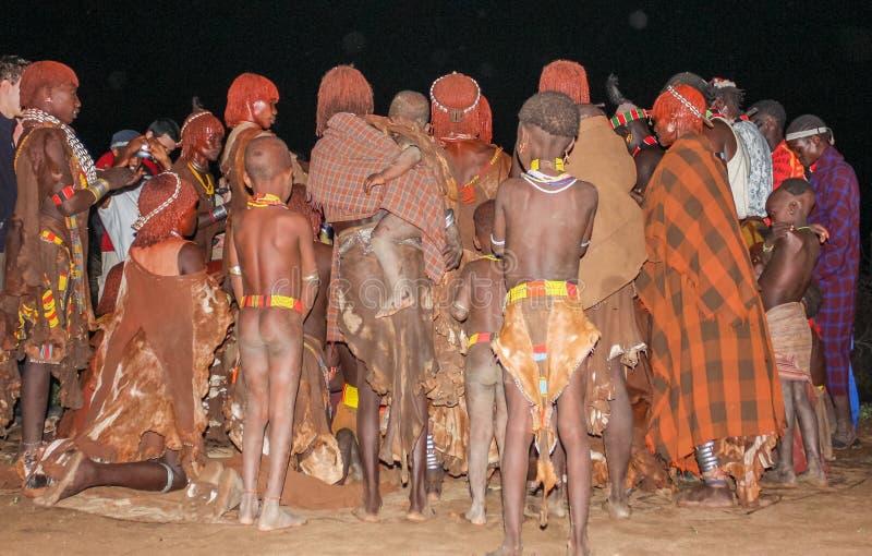 Etiopisk förbindelse arkivbild